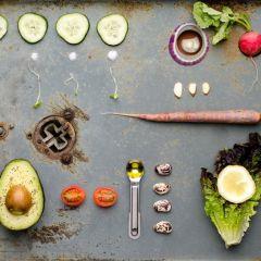 Натюрморты продуктов питания в исполнении Alexis Clements