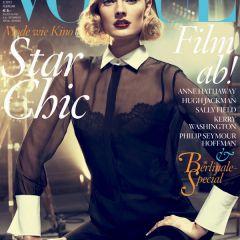 Новый номер журнала Vogue Germany с Constance Jablonski на обложке