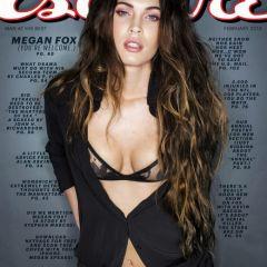 Красавица Megan Fox в журнале Esquire US