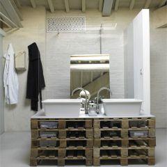Проект современного лофта на чердаке флорентийского промышленного здания