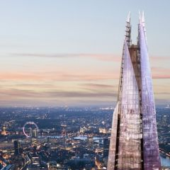 Панорамы с лондонского The Shard