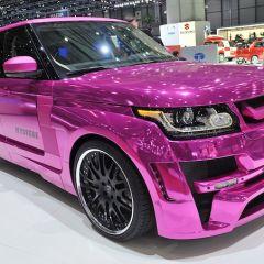 Range Rover Mystere на Женевском автосалоне