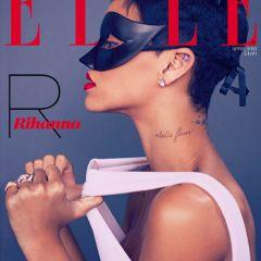 Обложка нового Elle UK