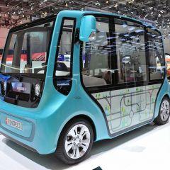 Rinspeed microMAX – вместительный электроавтобус