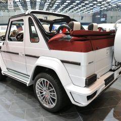 Джип-кабриолет на базе Mercedes-Benz G500 от Mansory