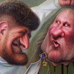 Карикатуры Дениса Лопатина