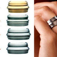 Креативные дизайнерские украшения Contura Rings