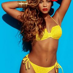 Бейонсе (Beyonce) в рекламе купальников H&M