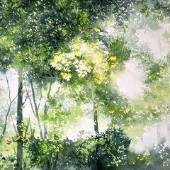 Картины акварелью от Абе Тошиюки