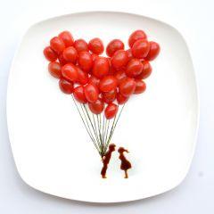 Пищевой арт от  Хонг И (Hong Yi)