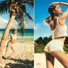 Даутцен Крез в H&M Magazine