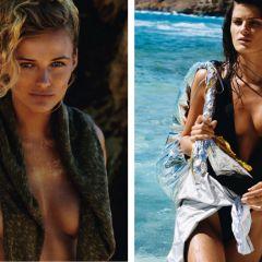 Эдита Вилкевичуте и Изабели Фонтана для Vogue Paris