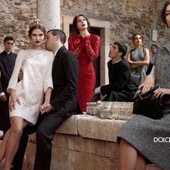 Зимние рекламные кампании 2014 Dolce&Gabbana