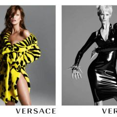 Кейт и Саския в рекламе Versace