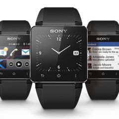 Часы Sony SmartWatch2 для Android-смартфонов