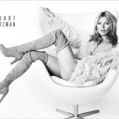 Кейт Мосс в рекламной кампании Stuart Weitzman