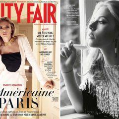 Скарлетт Йоханссон на обложке Vanity Fair France