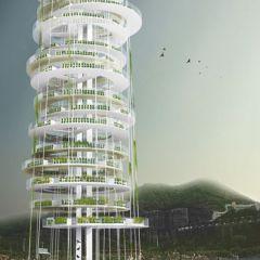 Небоскреб Dyv-net в Гонгконге
