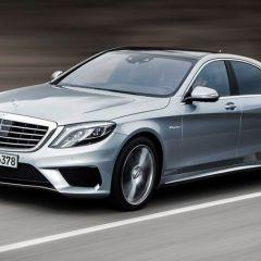 Новый Mercedes-Benz S63 AMG