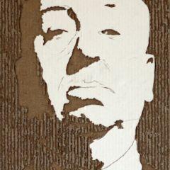 Картонные портреты от Джайлз Олдершоу (Giles Oldershaw)