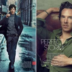 Бенедикт Камбербэтч в Vogue US