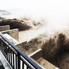 Желтые воды реки Хуанхэ