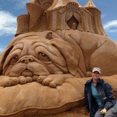 Песочные скульптуры от Сюзанны Руселер