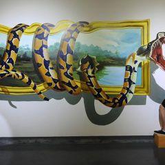 3d картины в музее Шэньяна