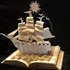 Книги-скульптуры