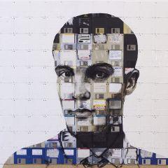 Портреты из дискет