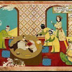 Гравюры 16 века, рассказывающие сюжеты современных фильмов