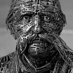 Скульптуры из стали Jordi D?ez Fern?ndez