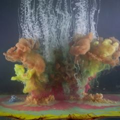 Необычные сочетания цветов в проекте Kim Keever