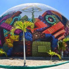 Интересный стрит-арт на улицах Мехико