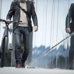 Карбоновый велосипед для катания в городе