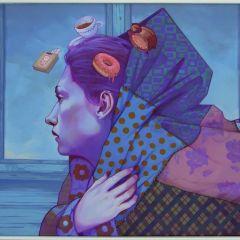 Картины уличных художников