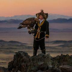 Монгольское посвящение в охотники с орлами