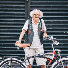 Модные велосипедисты