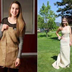 Выпускница пожертвовала платьем ради благотворительности