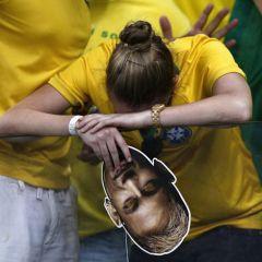 Матч между Германией и Бразилией на ЧМ-2014