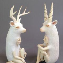 Необычные скульптуры Crystal Morey