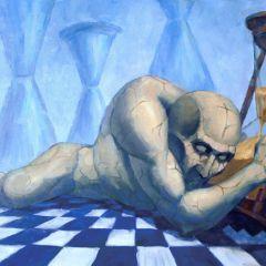 Гротескные картины Дмитрия Савченко