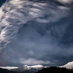Извержение вулкана в фотографиях