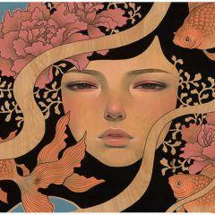 Иллюстрации Audrey Kawasaki