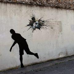 Граффити Pejac