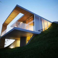 Дом в земле
