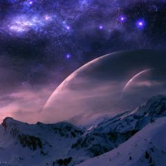 Другой космос в иллюстрациях QAuZ