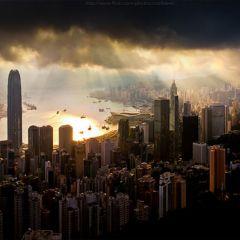 Гонконг - яркий и контрастный город
