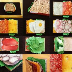 Книга-сэндвич Pawel Piotrowski