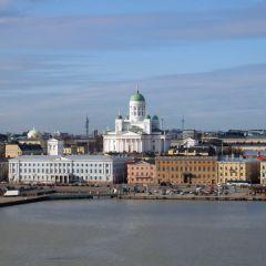 Сенатская площадь Хельсинки